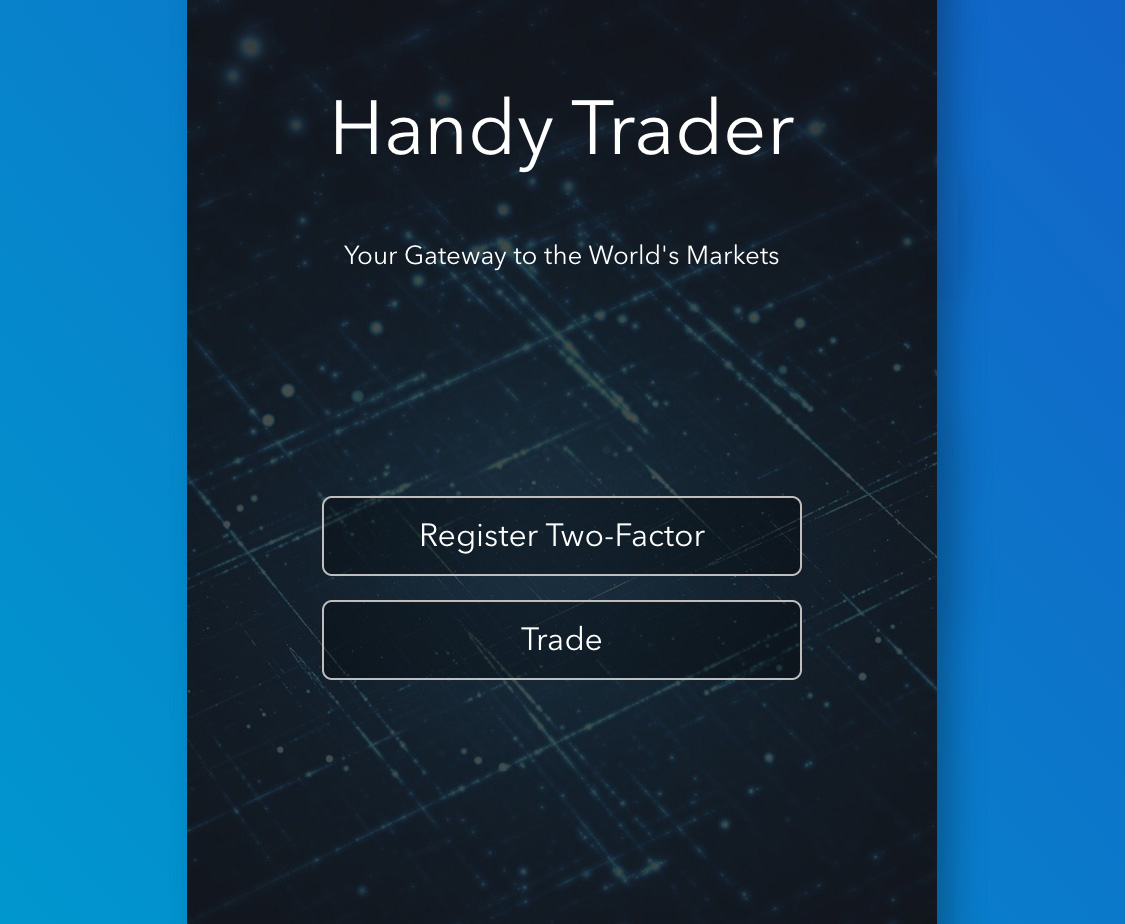 Launch Handy Trader